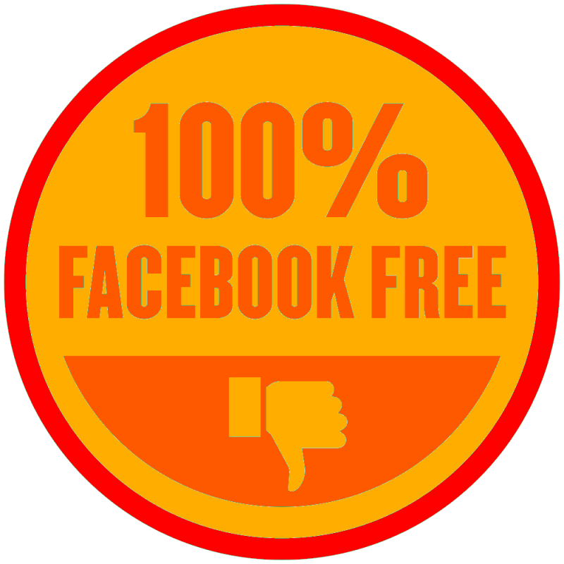Remixed the @dhh no @facebook badge and you can be issued one from the #indieweb wiki let me know if interested