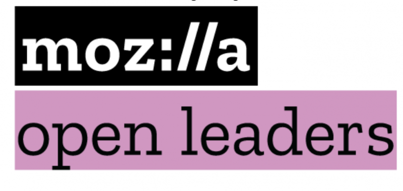 Mozilla Open Leaders logo